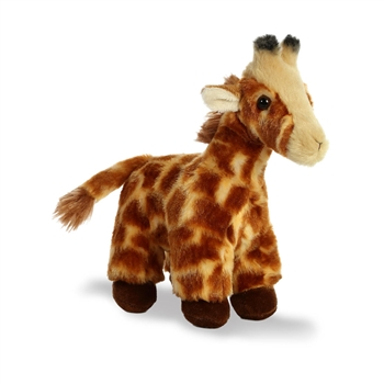Necky the Small Stuffed Giraffe with Sound by Aurora