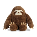 Cartoon Style Sloth Stuffed Animal by Aurora