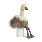 Sadira the Designer Stuffed Ostrich Luxe Boutique Plush by Aurora