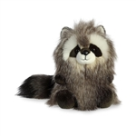 Mika the Designer Stuffed Raccoon Luxe Boutique Plush by Aurora