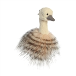 Sadira the Designer Clip On Stuffed Ostrich Luxe Boutique by Aurora