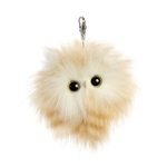 Adair the Designer Clip On Stuffed Yellow Owl Luxe Boutique by Aurora