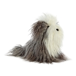Finley the Designer Stuffed Sheepdog Luxe Boutique Plush by Aurora