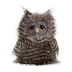 Midnight the Designer Stuffed Owl Luxe Boutique Plush by Aurora