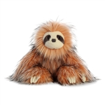 Skyler the Designer Stuffed Sloth Luxe Boutique Plush by Aurora