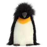 Fluffer Royal Stuffed Penguin Luxe Boutique by Aurora