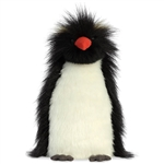 Fluffer Rocky Stuffed Penguin Luxe Boutique by Aurora
