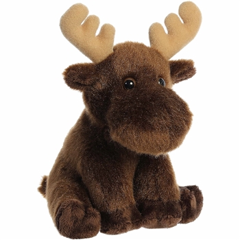 Lil Monty the Little Baby Moose Stuffed Animal by Aurora