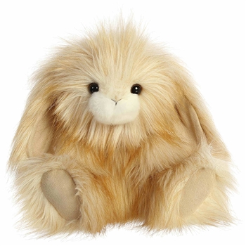 Agnes the Designer Stuffed Bunny Luxe Boutique Plush by Aurora