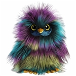 Eden the Designer Stuffed Owl Luxe Boutique Plush by Aurora