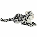 Asha the Designer Stuffed White Leopard Luxe Boutique by Aurora