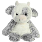 Small Sweet and Softer Cow Stuffed Animal by Aurora