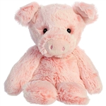 Small Sweet and Softer Pig Stuffed Animal by Aurora
