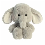 Millie the Gray Stuffed Elephant Sweeties Plush by Aurora