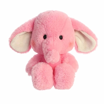 Millie the Pink Stuffed Elephant Sweeties Plush by Aurora