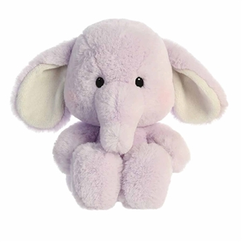 Millie the Purple Stuffed Elephant Sweeties Plush by Aurora
