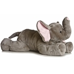 Super Ellie the Jumbo Stuffed Elephant Super Flopsie by Aurora