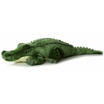 Super Swampy the Jumbo Stuffed Alligator Super Flopsie by Aurora