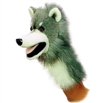 Wolfgang the Plush Wolf Stage Puppet By Aurora