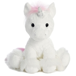 Dreaming of You the White Unicorn Stuffed Animal by Aurora