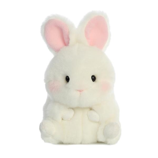 Bunbun The White Bunny Stuffed Animal Rolly Pet By Aurora