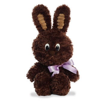 Dark Chocolate Bunny Stuffed Animal by Aurora