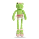 Hoppy the Ballerina Frog Stuffed Animal by Aurora