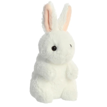 Small Biddy Stuffed White Bunny Rabbit by Aurora