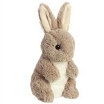 Small Biddy Stuffed Taupe Bunny Rabbit by Aurora