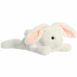 Stuffed White Bunny Schooshies Plush by Aurora