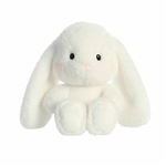 Willa the White Stuffed Bunny Sweeties Plush by Aurora