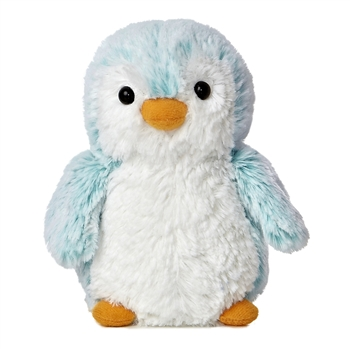 Pompom the Little Blue Baby Penguin Stuffed Animal by Aurora