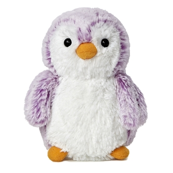 Pompom the Little Purple Baby Penguin Stuffed Animal by Aurora