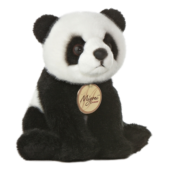 Realistic Stuffed Panda Bear 5 Inch Aurora Stuffed Safari