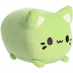 Green Tea the Green Stuffed Cat Meowchi Plush by Aurora
