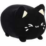 Black Sesame the Black Stuffed Cat Meowchi Plush by Aurora