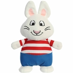 Max the Stuffed White Rabbit Max and Ruby Plush by Aurora
