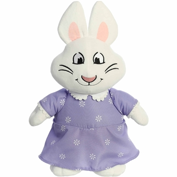 Ruby the Stuffed White Rabbit in Pajamas Max and Ruby Plush by Aurora