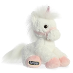 Breyer Buddies Stuffed White Unicorn by Aurora