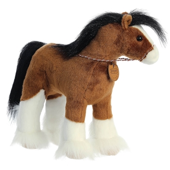 Breyer Showstoppers Clydesdale Stuffed Animal by Aurora