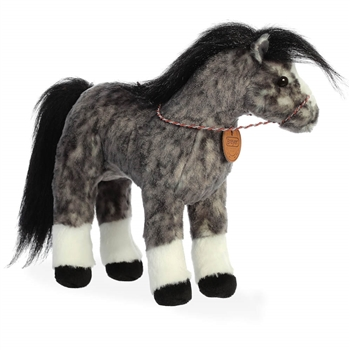 Breyer Showstoppers Andalusian Horse Stuffed Animal by Aurora