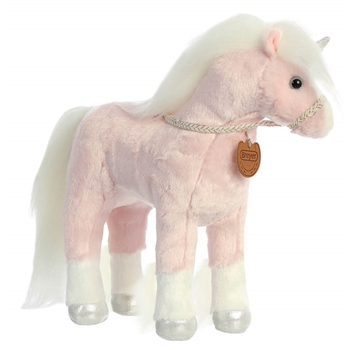 Breyer Showstoppers Pink Unicorn Stuffed Animal by Aurora