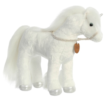 Breyer Showstoppers White Unicorn Stuffed Animal by Aurora