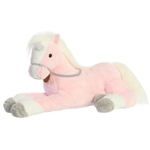 Breyer Majestics Pink Unicorn Stuffed Animal by Aurora