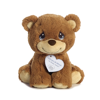 Precious Moments Charlie Bear Stuffed Animal by Aurora