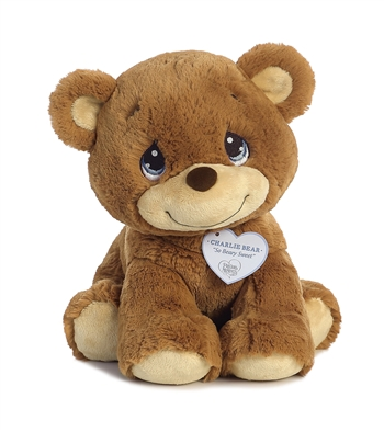 Precious Moments Medium Charlie Bear Stuffed Animal by Aurora