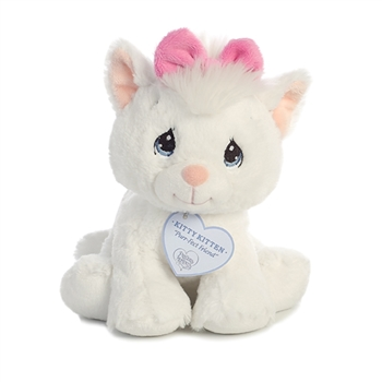 Precious Moments Kitty Kitten Stuffed Animal by Aurora