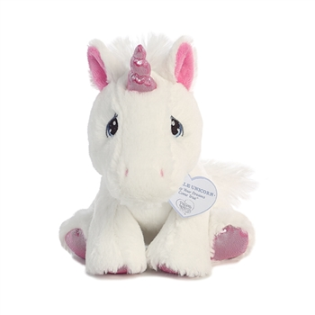 Precious Moments Sparkle Unicorn Stuffed Animal by Aurora