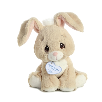 Precious Moments Tan Floppy Bunny Stuffed Animal by Aurora