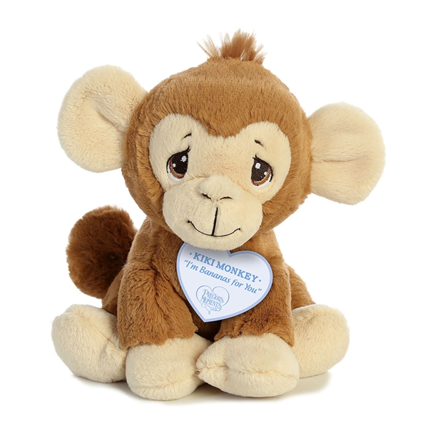 6b69cae20cf4 Precious Moments Kiki Monkey Stuffed Animal by Aurora Larger Photo ...